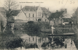 carte postale hotel dieu